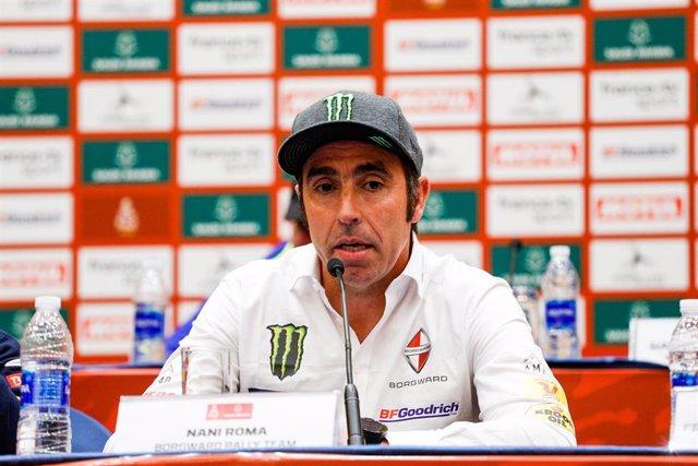 "Rally/Dakar.- Nani Roma: ""Hay que tener tranquilidad, esto acaba de empezar"""