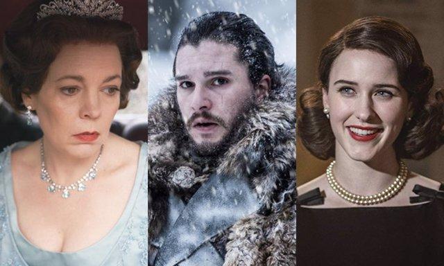 Tres de los nominados televisivos a los Globos de Oro