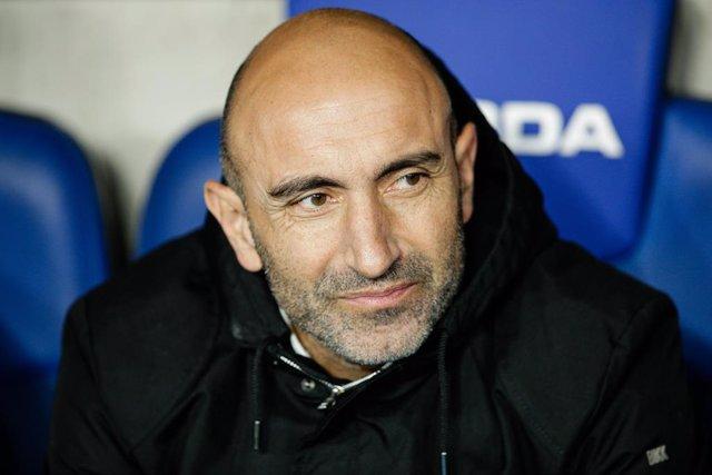 Abelardo, tècnic de l'Espanyol.