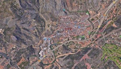 Herido un menor de 15 años al caer por un terraplén de ocho metros en una cantera de Borriol (Castellón)