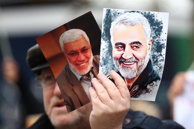 Fotografies del general iranià Qasem Soleimani