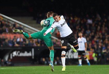 Rodrigo Moreno, seria duda para jugar la Supercopa por un esguince de rodilla