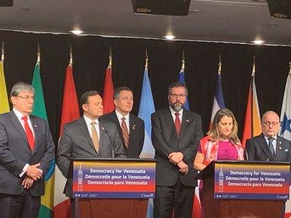 """El Grupo de Lima condena """"el uso de la fuerza"""" de Maduro para """"impedir"""" la votación en la Asamblea Nacional"""