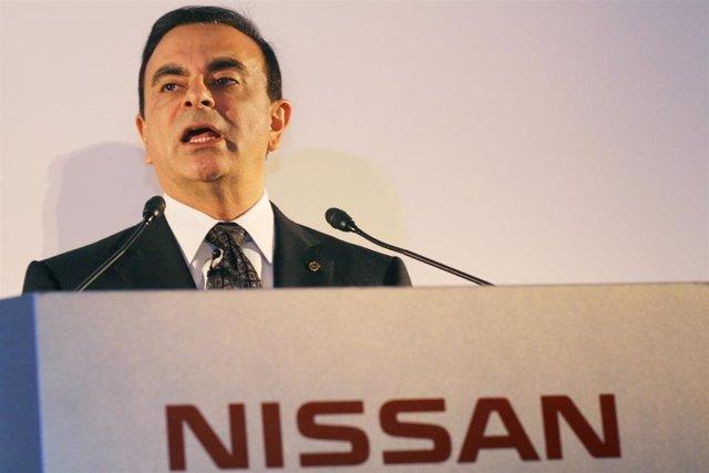 El expresidente de la alianza automovilística franconipona Renault-Nissan-Mitsubishi Carlos Ghosn.