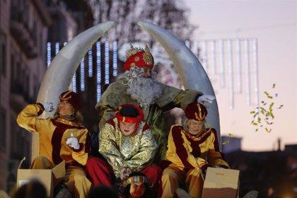 Las cabalgatas de los Reyes Magos, en imágenes