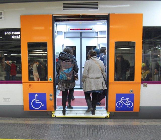Rodalies adaptats a persones amb mobilitat reduïda