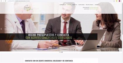 Una web pone en contacto a los comercios catalanes con los agentes comerciales colegiados