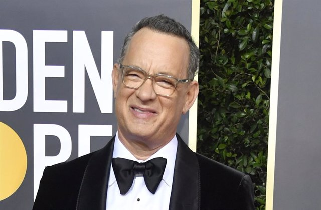Tom Hanks en los Globos de Oro 2020