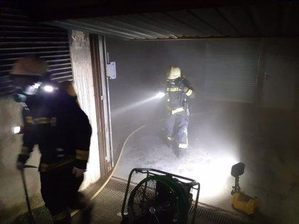 Un incendio en un garaje subterráneo en Meruelo obliga a desalojar a los vecinos de dos bloques