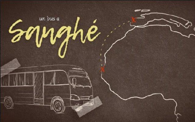 Cartel de la campaña 'Un bus a Sanghé'