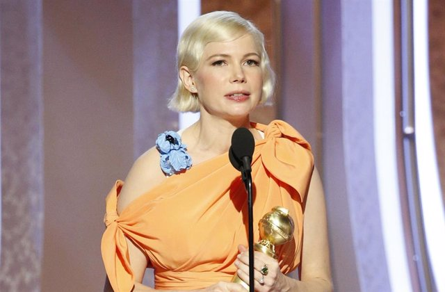 Michelle Williams en los Globos de Oro