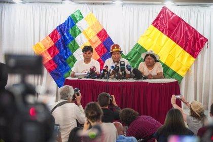 """Evo Morales vuelve a condenar el """"salvajismo"""" de las autoridades bolivianas durante las protestas"""