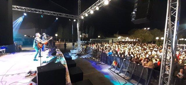 Concierto de la Diada de Mallorca  2019 en Porreres.