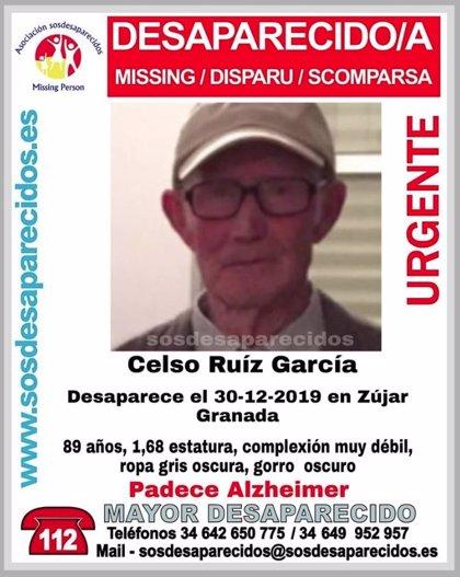 Continúa la búsqueda del anciano de Zújar (Granada) desaparecido hace una semana