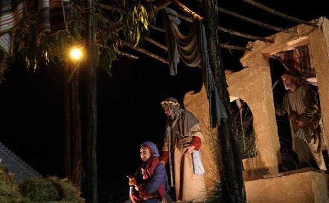 Cabalgata de Reyes Magos en Higuera de la Sierra