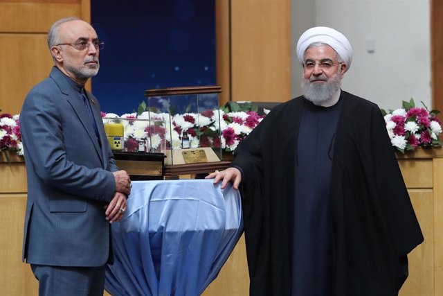 Ali Akbar Salehi  y Hasan Rohani