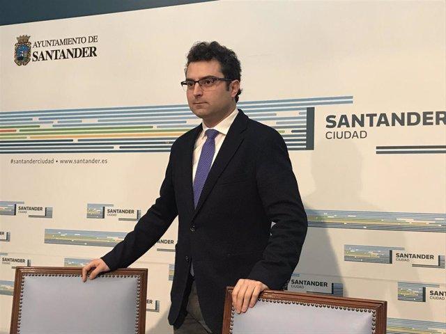 Concejal de Empleo de Santander, Daniel Portilla