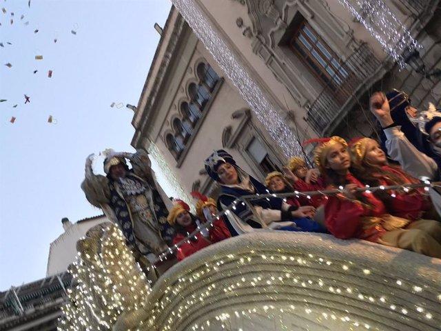 Imagen de la Cabalgata de Reyes de Magos de Jaén