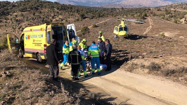 Muere un joven y otros tres son hospitalizados por intoxicación de monóxido de carbono en Colmenar Viejo