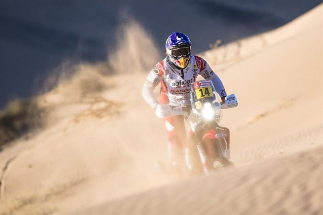 Laia Sanz en el Rally Dakar