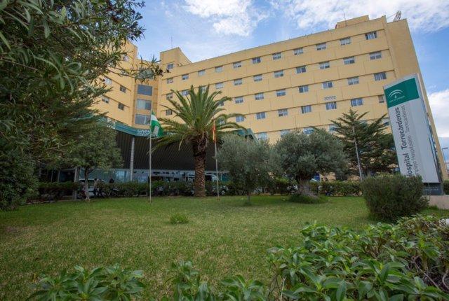 Fachada del Hospital Universitario Torrecárdenas (Almería)