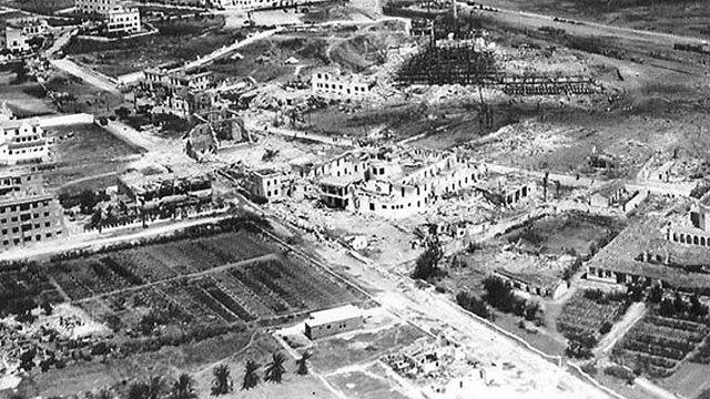 Explosión que casi destruyó Cádiz en 1947