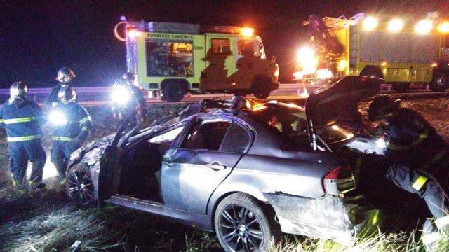 Accidente de tráfico en Cádiz