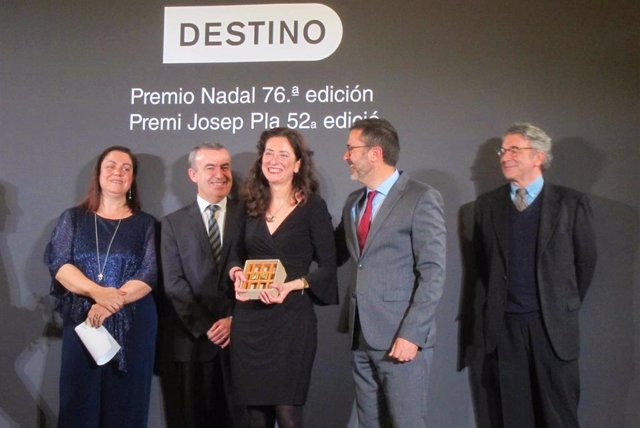 La ganadora del 76 Premio Nadal de Novela, Ana Merino