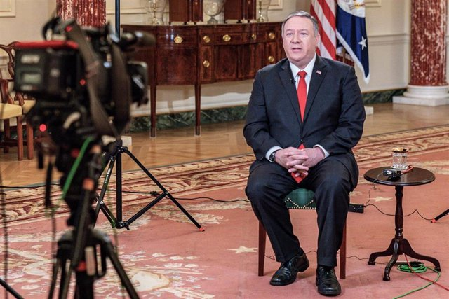 Imagen del secretario de Estado de Estados Unidos, Mike Pompeo.