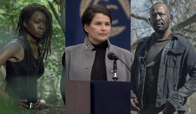 Las tres series de The Walking Dead