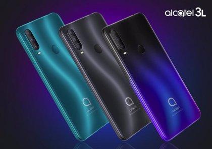 Alcatel amplía su oferta con un smartphone con triple cámara de 48MP y otro con Android 10 (Go Edition)