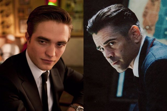 Robert Pattinson y Colin Farrell, dos actores de The Batman