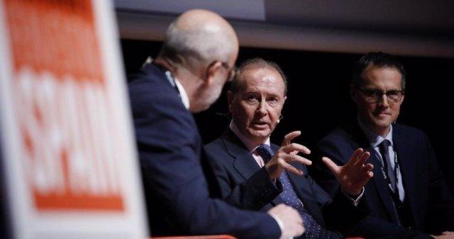 Martín Sellés, presidente de Farmaindustria, durante su intervención el Forbes Summit.
