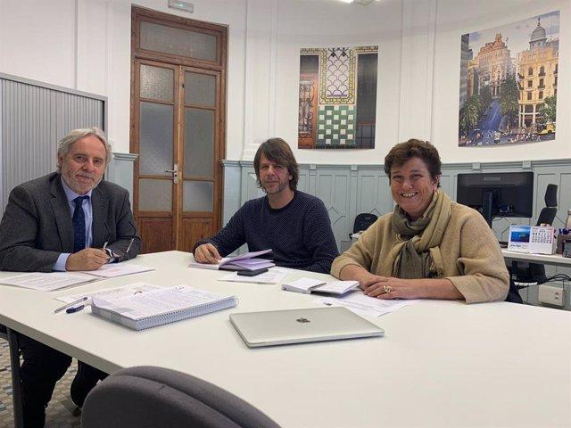 Emiliano García se reúne con representantes de la pesca artesanal