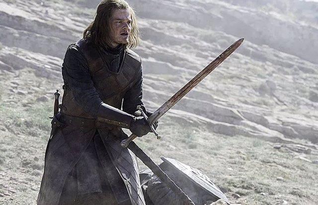 El joven Ned Stark en Juego de tronos