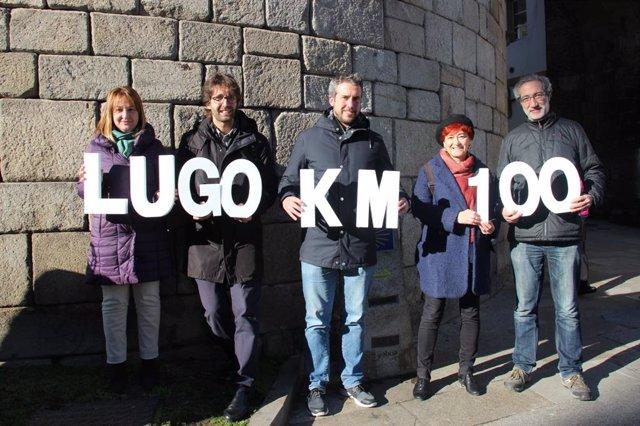 Campaña 'Lugo, kilómetro 100'.