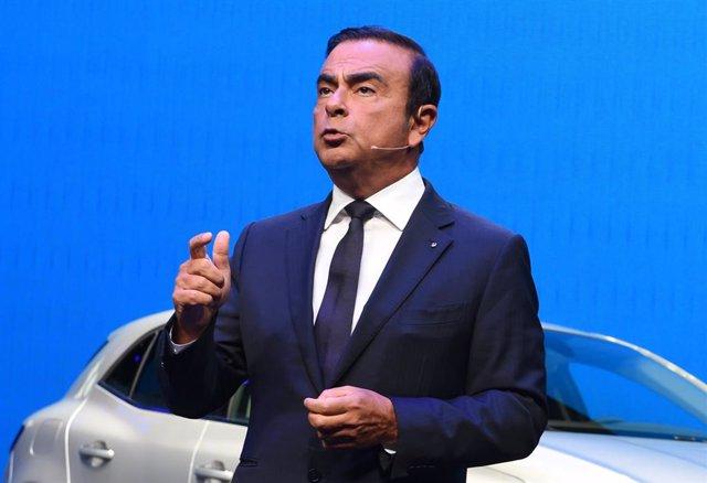 El expresidente de Nissan Carlos Ghosn.