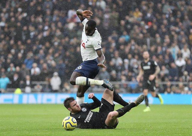 El jugador del Tottenham Hotspur Moussa Sissoko