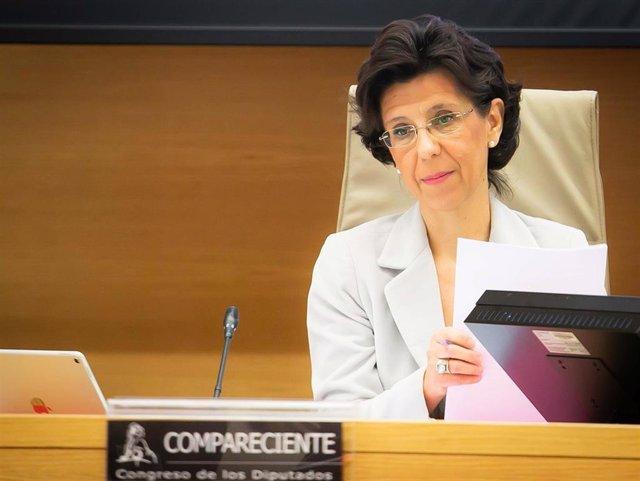 María José de la Fuente, presidenta del Tribunal de Cuentas