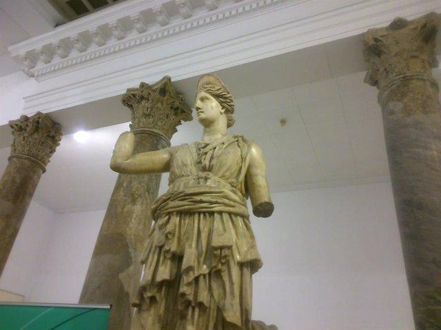 Estatua de Diana en el museo arqueológico de Sevilla