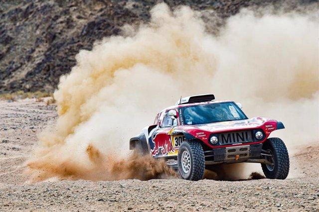 Carlos Sainz en le Rally Dakar