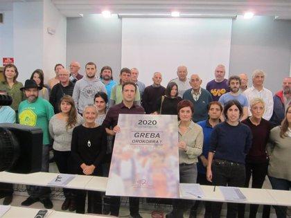 Los sindicatos nacionalistas registran este jueves la huelga general del 30 de enero