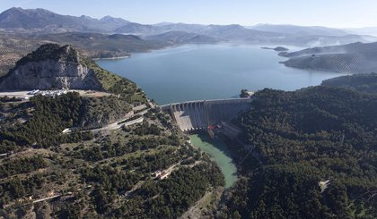 Los embalses del Guadalquivir suben al 45,3% de capacidad y los de la Cuenca Mediterránea Andaluza al 49,8%