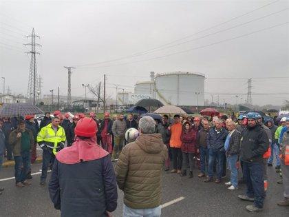 Los empleados de las auxiliares de Endesa en As Pontes (A Coruña) retoman las movilizaciones contra el cierre