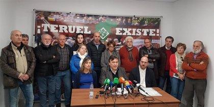 Teruel Existe remarca que su apoyo a Sánchez no es ideológico sino para afrontar las necesidades del país y la provincia