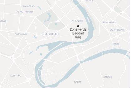 Caen dos proyectiles sobre la Zona Verde de Bagdad cerca de la Embajada de EEUU sin dejar víctimas