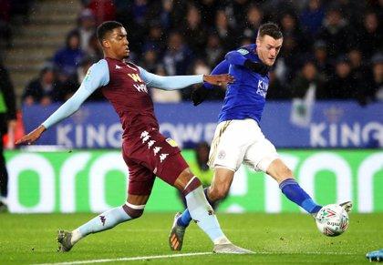 El Aston Villa aguanta al Leicester en la Copa de la Liga