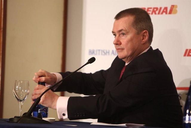 EL conseller delegat d'IAG, Willie Walsh