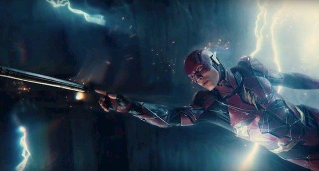 Imagen de Flash en La Liga de la Justicia