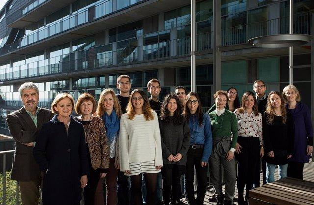 Miembros del grupo de investigación del Centro de Investigación en Salud Laboral